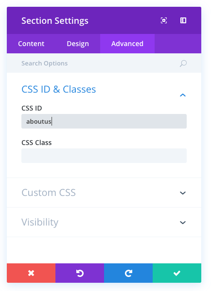 single page website editor