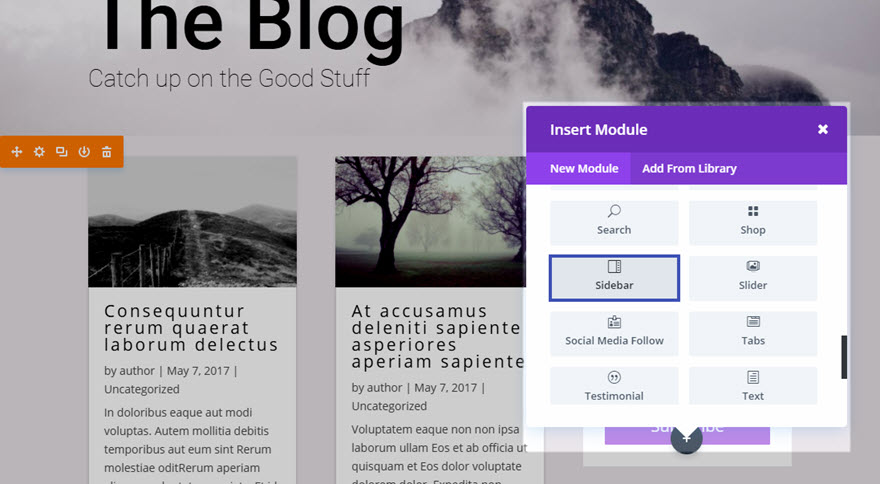 how to add php in divi module
