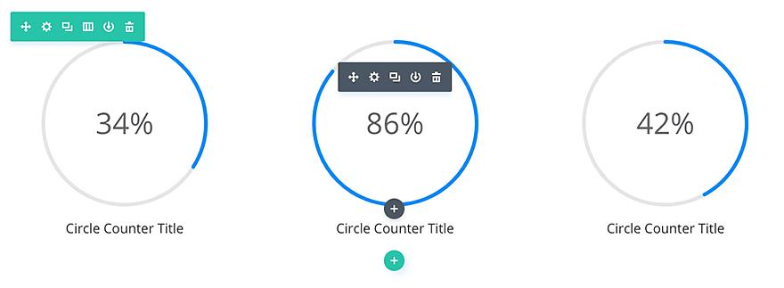 circle counter module