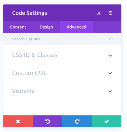 code module