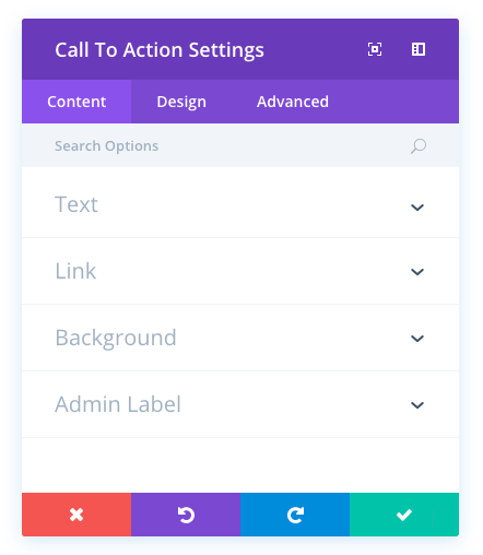 call to action module