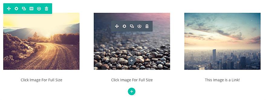 Le module d'image de Divi