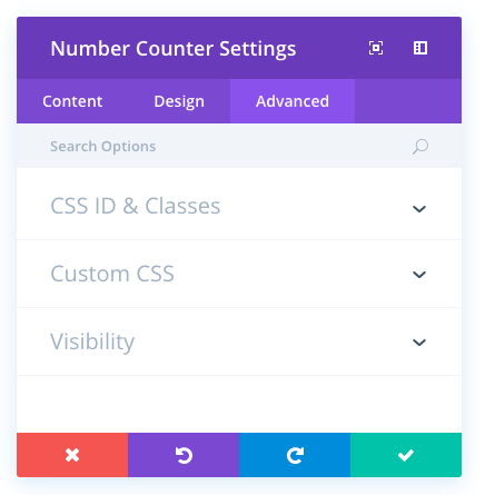 number counter module