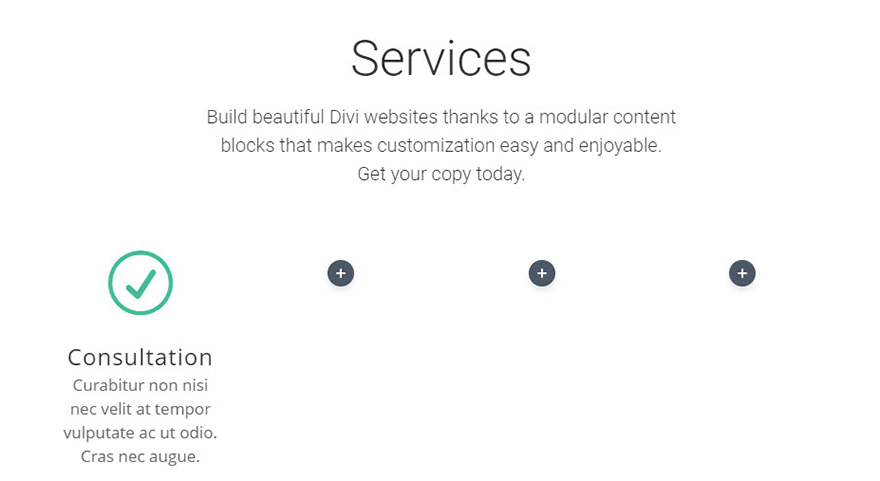 blurb module