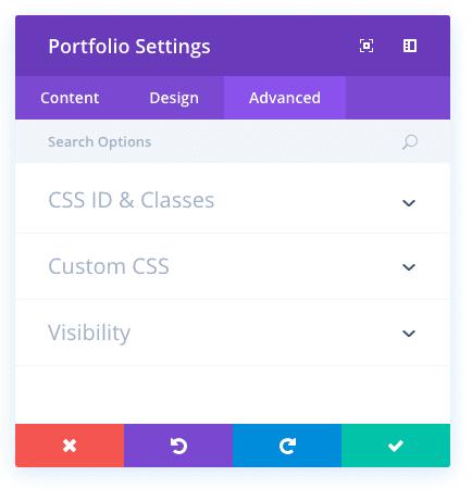 portfolio module
