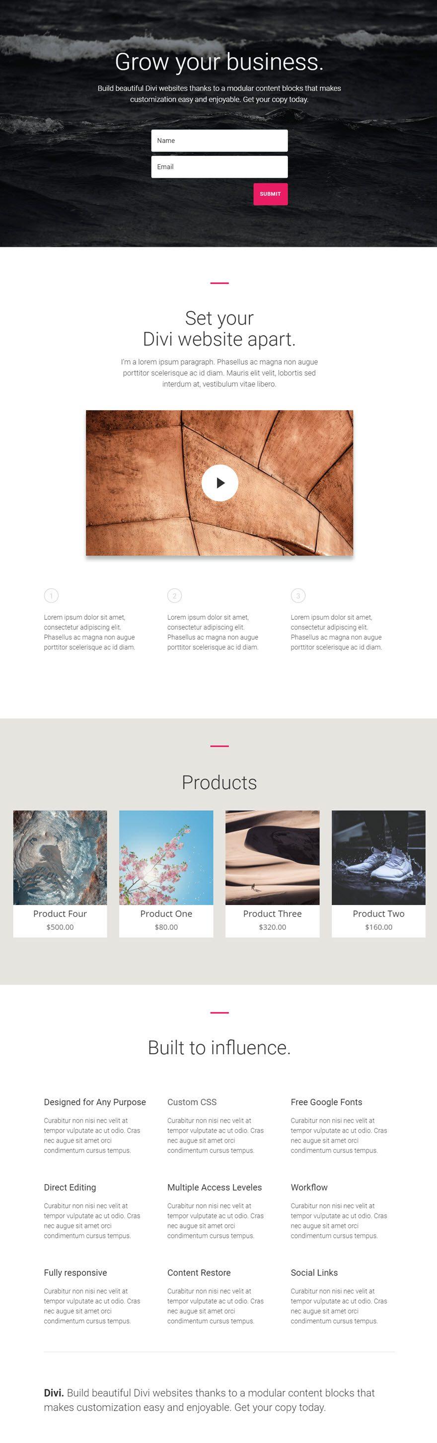 shop module