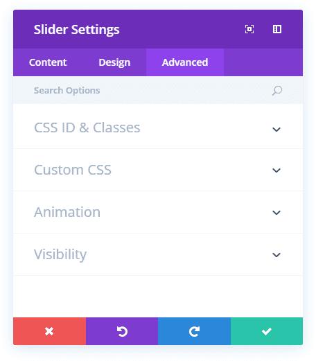 slider module
