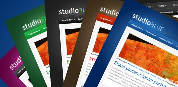 Elegant Themes Studio Blue v2 Premium