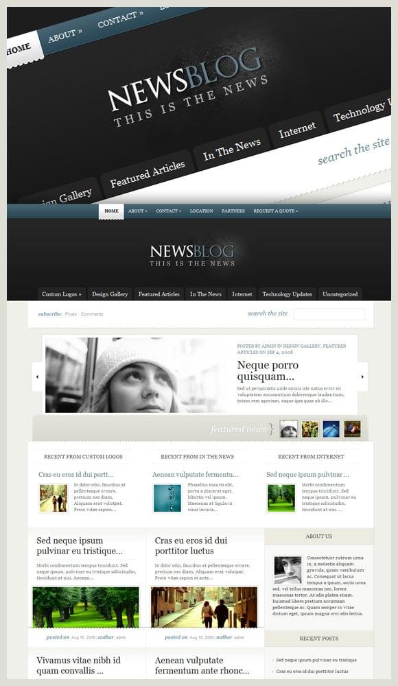 eNEWS Wordpress Theme For News Blogs