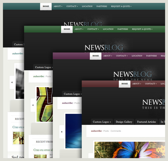 New Theme: eNews | Elegant Themes Blog