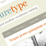 New Theme: PureType