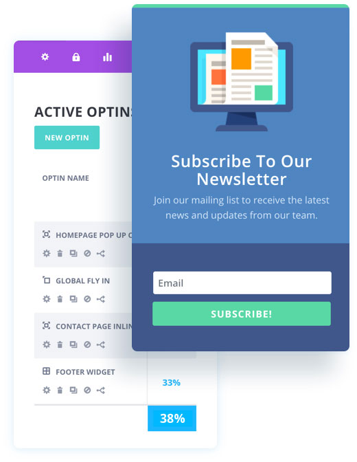 Bloom Email Opt-In Plugin For WordPress