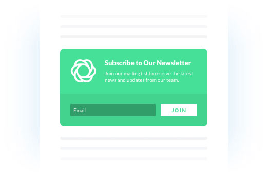 Inline Opt-In Form