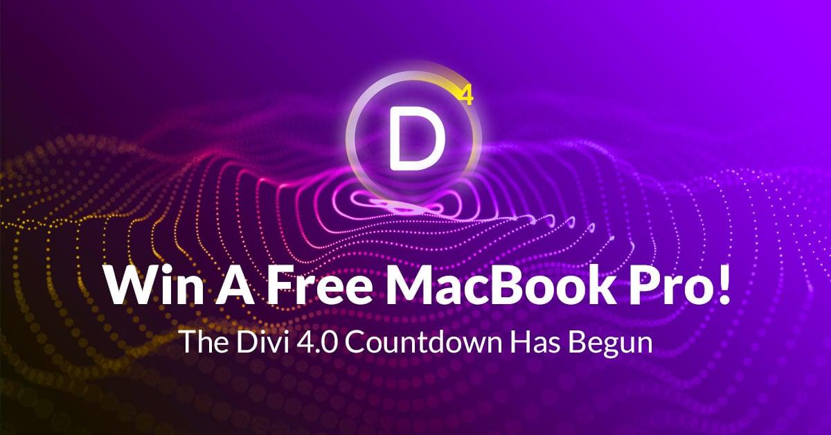 Win an Apple MacBook Pro 15