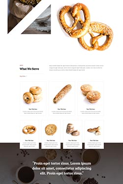 Bakery Layout Preview
