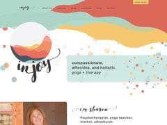Vignette du site Web In-Joy
