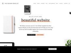 Vignette du site Web Design Space