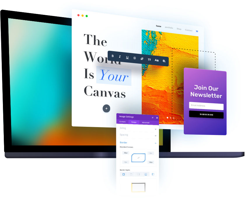 Divi Builder Preview