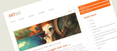 ArtSee Premium WordPress Theme From ElegantThemes