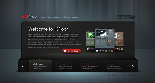 13floor wordpress theme
