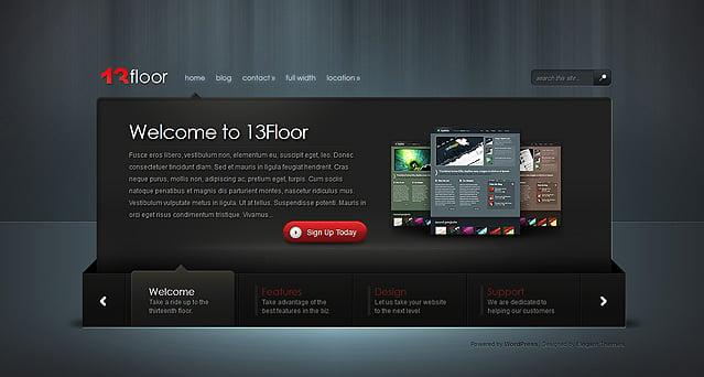 13floor wordpress theme For13 Floor Theme