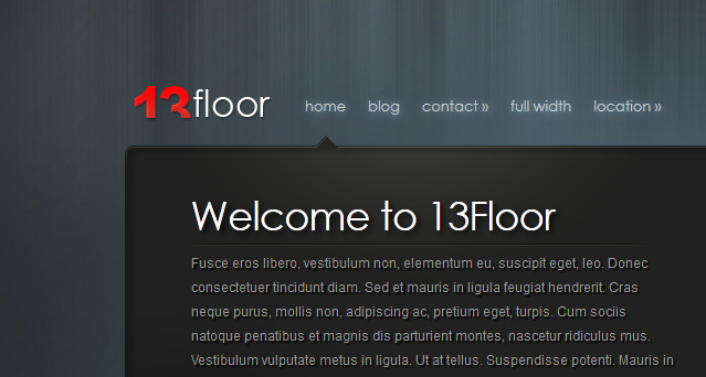 13floor wordpress theme for 13 floor