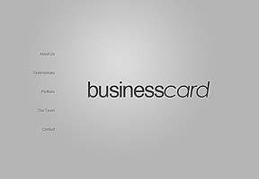 BusinessCard theme