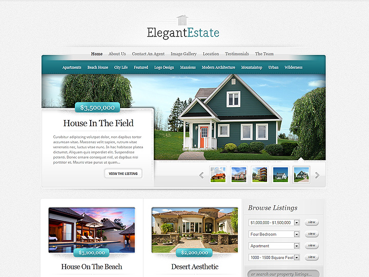 real estate themes for wordpress