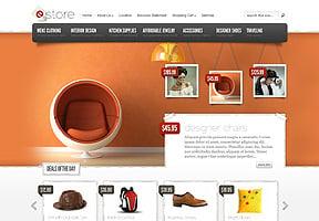 Tema Tienda Online eStore WordPress por ElegantThemes