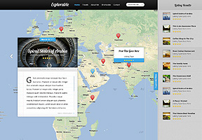 Explorable theme