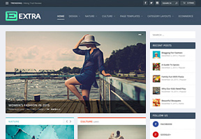 Business wordpress themes by elegant themes extra theme friedricerecipe Image collections