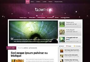 Glow theme
