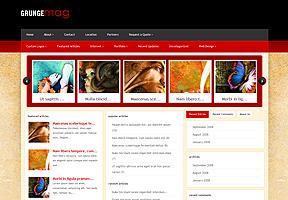 Grungemag theme