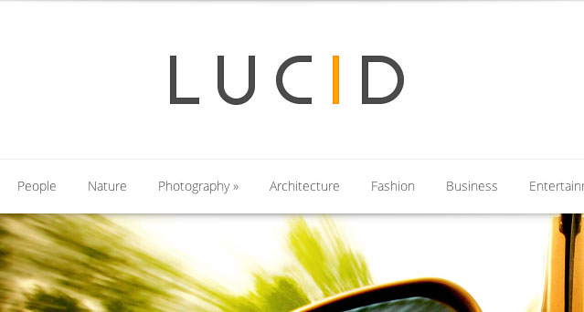 Lucid WordPress theme