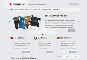 Minimal theme