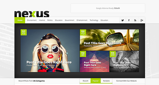 Wordpress Theme Nexus