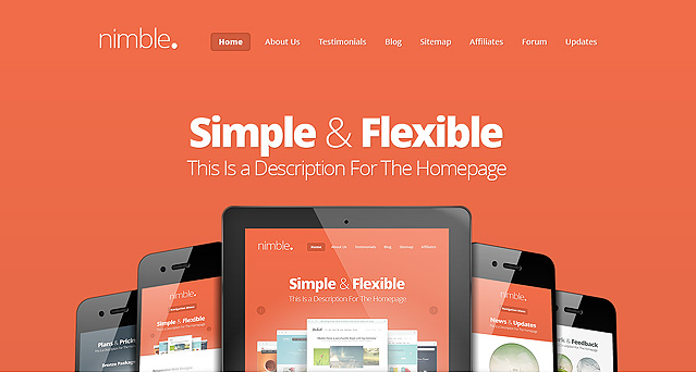 Wordpress Theme Nimble