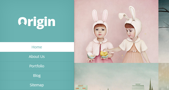 Origin WordPress Portfolio Theme