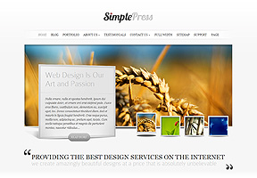 SimplePress theme