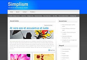 Simplism theme