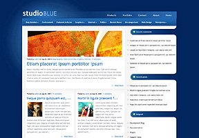 StudioBlue theme