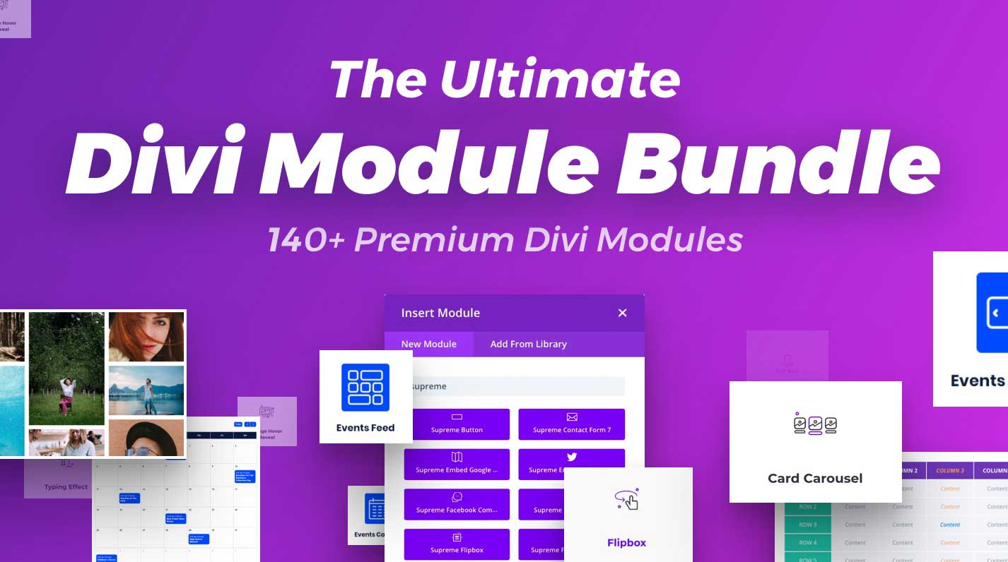 The Ultimate Divi Module Bundle