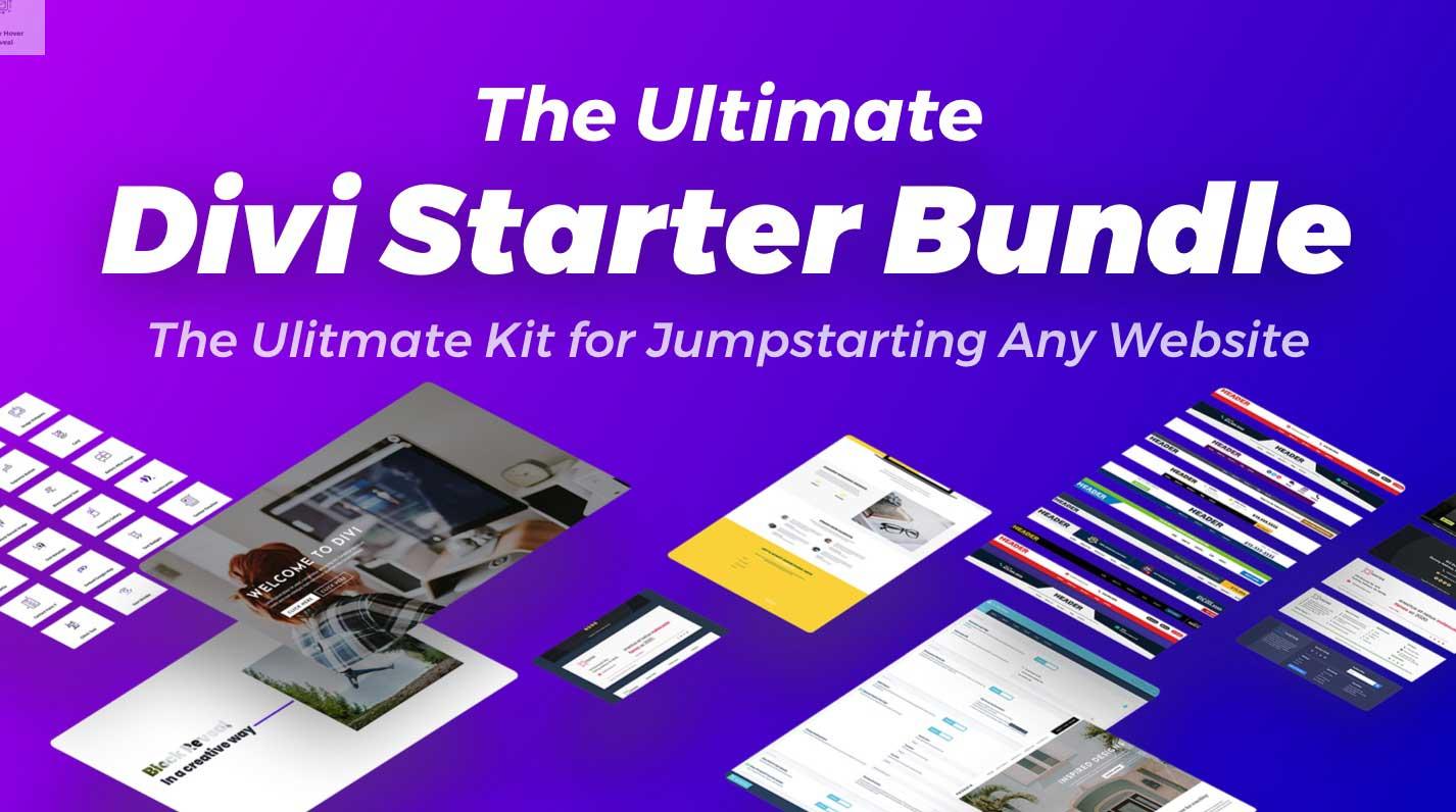 The Ultimate Divi Starter Bundle