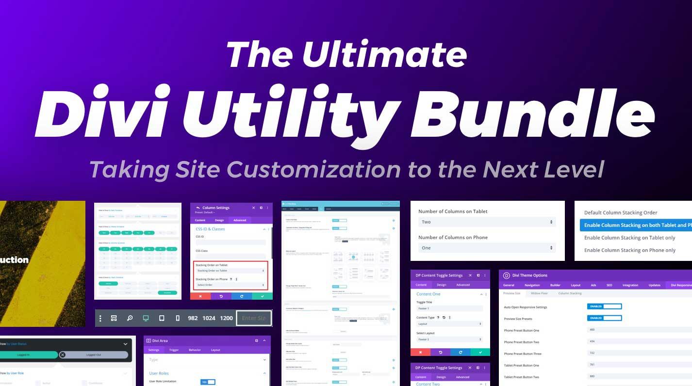 The Ultimate Divi Utility Bundle