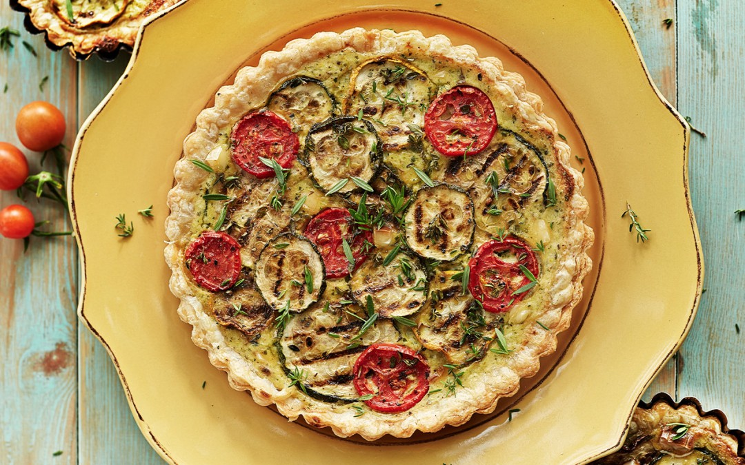 Free Grilled Veggie Tart Recipe